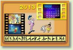 Calendar februarie 2013
