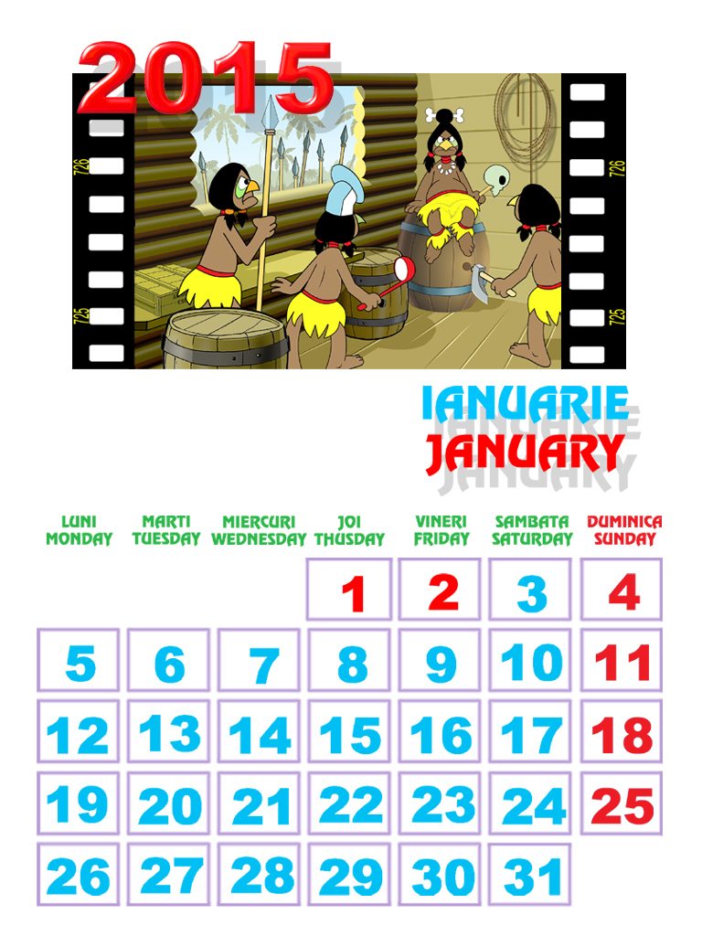 calendar luna februarie 2016