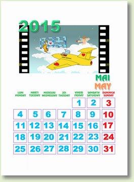 Calendar maib 2015