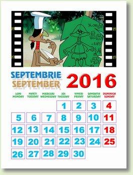 calendar septembrie 2016